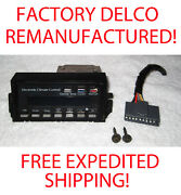 86 Delco Factory Remanufactured Deville And Fleetwood Electronic Climate Control