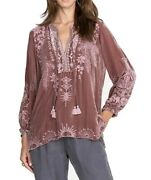 Johnny Was Dylan Double Tassel Peasant Blouse - J14121-6