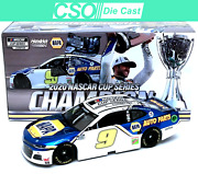 Chase Elliott 2020 Napa Cup Champion Color Chrome 1/24 Die Cast In Stock