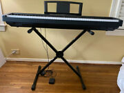 Yamaha P-35 88-note Portable Digital Piano With Stand Muisc And Lesson Books