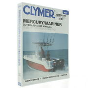 Clymer New Mercury/mariner 89-02 Outboard Manual 75-250 Hp Two-stroke 1200727