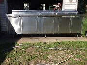 Vintage Diner - Vintage Soda Fountain Stainless Steel Counter