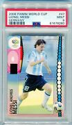 2006 Panini World Cup Germany Lionel Messi 47 Psa 9 Mint Rare