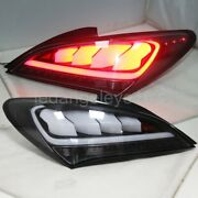 Black For Hyundai Rohens Coupe Led Strip Tail Rear Lights 2009-2011 Year Jy