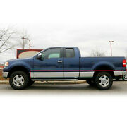 For 2004-08 F-150 Super/ Extended Cab 6.5and039 Short Bed W/ Flares Rocker Panel Trim