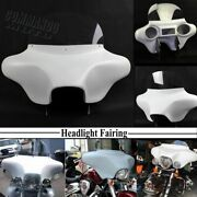 Detachable Batwing Fairing Windshield For Harley Road King Flhr Flhrs 1994-2021