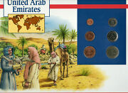 Coins Of The World United Arab Emirates All 1989 But 1 Fil 1988 Brilliant Unc