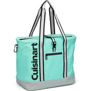 Cuisinart 35-can Portable Insulated Tote Cooler Bag - Turquoise