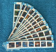 Vintage 1966 Kenner Give-a-show Projector Slide Lot Of 12 Great Mix Look @ Pics