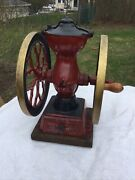 Best Antique Charles Parker Co Table Top Coffee Mill Grinder 200 March 9, 1897