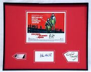 Escape From The Planet Of The Apes Cast Signed Framed 16x20 Photo Display Jsa