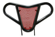Yamaha Raptor 700  Front Bumper Black And Red Screen  Alba Racing  197 M2 Br