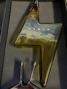 Tesla Tequilas Empty Bottle+stand +box Limited In Hand Free Shipping New Empty