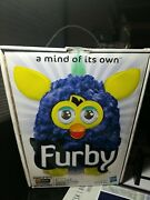 Furby Blue And Yellow, A Mind Of Its Own, Sealed, Rare, New