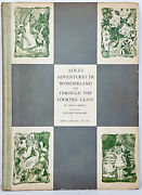 Alice In Wonderland Alice's First Edition Adventures Through The Looking Glass