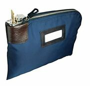 Mmf Industries Seven-pin Security/night Deposit Bag With 2 Keys, 11 X 8-1/2 Inch
