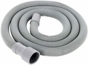 Washing Machine Hoses Universal Front Load Washer Drain Hose 6- Foot