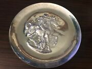 Lincoln Mint 1971 Unicorn Plate Sterling Silver 8