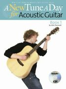 New Tune A Day For Acoustic Guitar Book 1 Paperback By Blackwell John Br...
