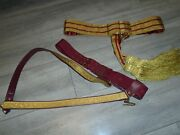 General Officers British Army Ceremonial Sash And Sword Belt With Slings