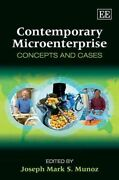 Contemporary Microenterprise Concepts And Cases Hardcover By Munoz Joseph...