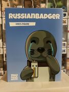 Youtooz Collectibles Russian Badger 46 Vinyl Figure Very Rare New