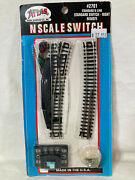 Atlas N Scale Code 80 Remotel Right Hand Switch 2701  New In Original Packaging