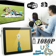 Wifi Tablet Pc Mini Projector Home H D Office 3d Projection For Go Ogle Android
