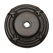 25 Pack - Cosmas 9468orb Oil Rubbed Bronze Cabinet Hardware Knob Backplate/back