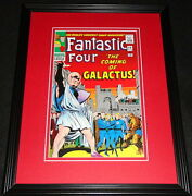 Fantastic Four 48 Silver Surfer Framed Cover Photo Poster 11x14 Official Repro