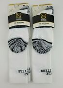 Noble Outfitters Best Dang Over The Calf Boot Sock White Medium Lot Of 2