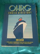 Ohrg Cruise Directory 1990 42 Cruise Lines/136 Ships Schedules/ Deck Plans Etc.