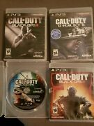 Call Of Duty Black Ops 1 2 3 And Ghosts Ps3