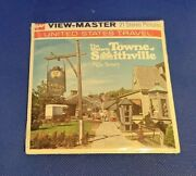 Sealed A766 The Historic Towne Of Smithville New Jersey View-master Reels Packet
