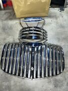 1941-1946 Chevy Pickup Truck Original Oem Re-chromed Grill Grille Trim Chrome