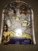 Disney Beauty And The Beast Castle Friends Collection Pvc Figurines Cake Toppers