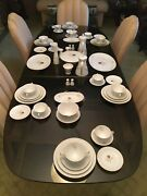 Rosenthal China Complete Service For Eleven - Shadow Rose - Never Used