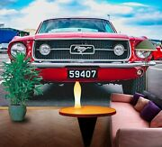 3d Ford Mustang O518 Transport Wallpaper Mural Self-adhesive Removable Amy