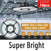 10x 300w Led High Bay Light Commercial Industrial Factory Warehouse Chain Lamp