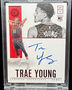 2018 White Box 1/1 Encased Trae Young Rookie Auto Rc