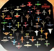 Wow 52-piece Lot Of Matchbox, Maisto, Disney Diecast Planes Helicopters Jets