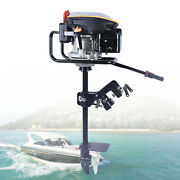 6.0hp 4 Stroke Outboard Motor Boat Engine With Air Cooling System Free Shipping