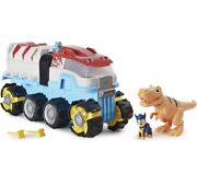New Paw Patrol, Dino Rescue Patroller Motorized Team Vehicle Chase T Rex Figure