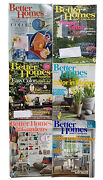 6 Better Homes And Gardens Magazines Color Flower Garden Themes Ideas
