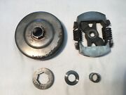 Mcculloch Clutch, Drum, Bearing, Sprocket, And Shim Pm 605 610 Timberbear