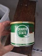 Quaker State Wheel Bearing Super Fine Lubricant One Pound Sealed And Plastic Cover