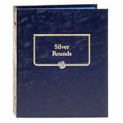 New Whitman Official United States Silver Rounds Us Coin Bullion Album Book9150