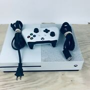 Microsoft Xbox One S 1tb Console White Model 1681tested