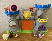 Fisher Price Little People Mighty King's Castle With Sound And Various Figures