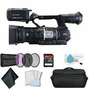 Jvc Gy-hm620 Prohd Mobile News Camera For Professional Video Recording Bundle +3